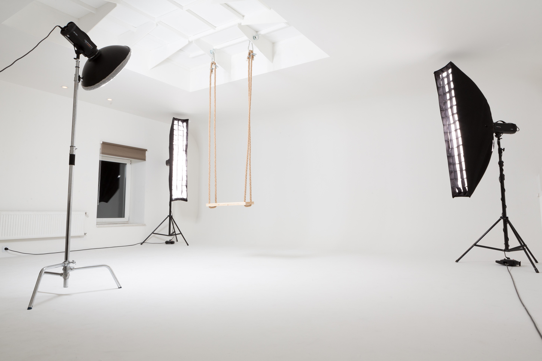 Ronalda Šulca Fotostudija - Baltā studija
